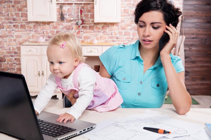 Comment s'organiser quand on est confiné avec un enfant en bas âge ?