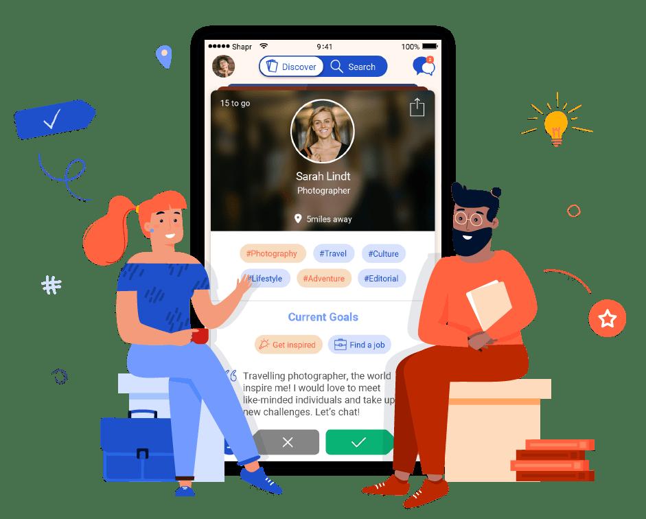 Shapr, la nouvelle façon de réseauter